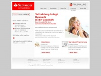 Teilzahlung - Santander Consumer Bank