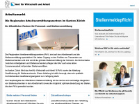 Rav.zh.ch - Arbeitsmarkt
