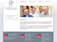 Orthopaedie-am-gruenewald.de - Orthopädie am Grünewald, Solingen | Wir über uns