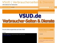 VSUD - Verbraucher-Services - Verbraucher-Portal - Verbraucher-Seiten