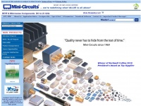 Minicircuits.com - Mini Circuits - Global Leader of RF and Microwave Components