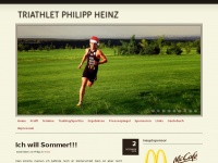 Triathlet Philipp Heinz