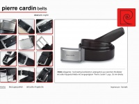 pierrecardin-belts.com