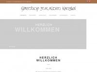 Gasthofkanzlei.ch - Gasthof zur Alten Kanzlei in Greifensee : Das gemütliche Restaurant am See