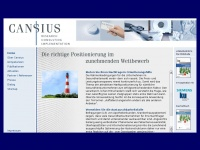 CANSIUS - Research - Consulting - Implementation