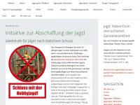 abschaffung-der-jagd.de
