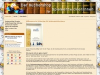 Der B&uuml;chershop f&uuml;r Spieleautoren, Spieleerfinder und Spieleentwickler