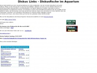 Diskus Links - Diskusfische im Aquarium