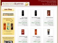 robustakaffee.de - OnlineShop für Röstkaffee