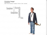 Christian Seeger | Saxophonist