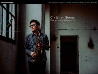 Christian Seeger | Saxophonist