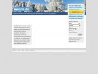 Gratis E-Mail - Kostenlose email bei Mailde.de