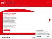 Spd-versmold.de - Hauptseite - Versmold in guten Händen. Die Versmolder SPD.