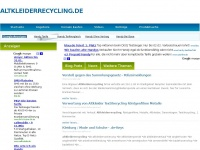 altkleiderrecycling.de