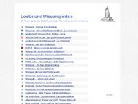 Online Lexika, Wikis, Enzyklopädien & Lexikonsuche