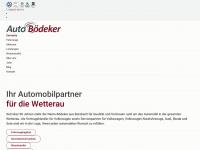 Willkommen | Auto Bödeker Butzbach - Ihr Automobilpartner für die Wetterau