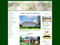 Herrenhaussamow.de - Ferienhäuser Ferienwohnungen Hochzeiten
