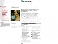 iwu.fraunhofer.de Thumbnail