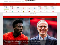 Bundesliga - official website