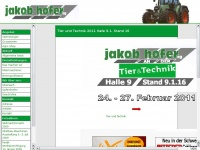 Jakob Hofer AG - Landmaschinen