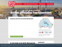 Berlin WelcomeCard - das Erlebnisticket für Berlin Touristen