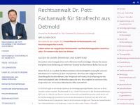 Fachanwalt für Strafrecht Dr. André Pott