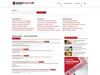 Offene Stellen Bern, Thun, Biel - Jobs Stellenangebote Region Ostschweiz