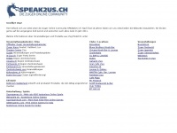Speak2us.ch - SPEAK2US :: Die Zuger Online Community