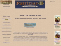 Patrizier 2 Gold - Patrizier 2 add on - Fanpage