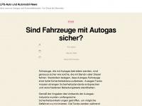 LPG-Auto - News rund um Autogas und PKW : Modelle, Technik, Umrüstung, Gas, PKW-Versicherung