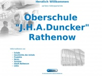 Oberschule-rathenow.de - Oberschule J.H.A. Duncker in Rathenow: News