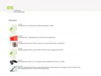 idrd.de - Startseite