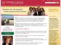 Wlcj.org - Women's League for Conservative Judaism