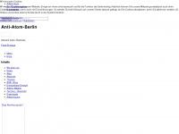 Anti Atom Berlin - Startseite