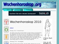 Wochenhoroskop.org