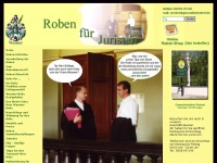 Wasmer-Roben f&uuml;r Juristen  - Roben-Shop f&uuml;r Juristen - die Robe der Spitzenklasse f&uuml;r Richter und Rechtsanw&auml;lte