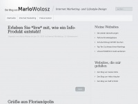 Der Blog von Mario Wolosz | Internet Marketing- und Lifestyle-Design