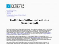 Gottfried-Wilhelm-Leibniz-Gesellschaft