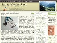 Julius-Hensel-Blog