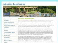 Reiseinformationen Barcelona online Reisef&uuml;hrer