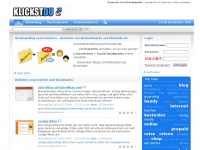 Deutsche Social Bookmarks - Lesezeichen &amp; Favoriten Online im Web verwalten