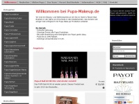 Pupa make-up	 - Home - pupa-makeup.de