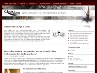 Autorenkreis-quovadis.de - Quo Vadis &ndash; Autorenkreis historischer Roman | Zusammenschluss von Autorinnen und Autoren / Schriftstellerinnen und Schriftstellern, die deutschsprachige historische Romane schreiben