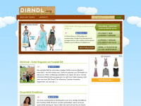 Dirndl.org - Dirndl g&uuml;nstig online kaufen: Dirndl billig ab 39 Euro