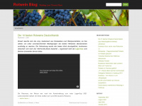 Rotwein.co.uk - Rotwein Blog - Wein News