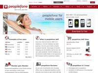 VoIP, Internet Telefonie, Voice over IP - peoplefone.ch