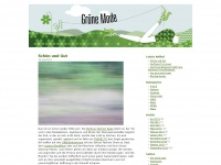 Grüne Mode – Kirsten Brodde – Blog