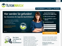 tutorwatch.de