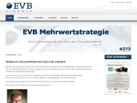 EVB Finance - Ihr innovativer Finanzdienstleister - EVB Finance