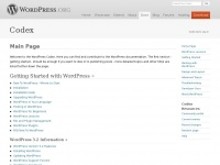 codex.wordpress.org Thumbnail